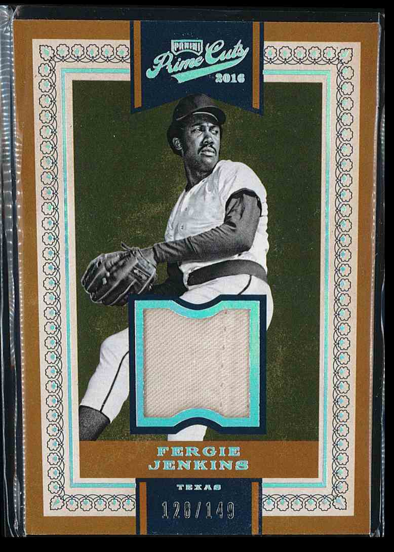 2016 Panini Prime Cuts Fergie Jenkins #120 card front image