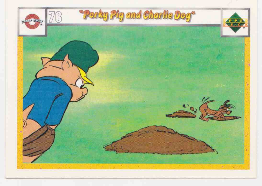 1990 Upper Deck Comic Ball Looney Tunes Looney Tunes #76 card front image