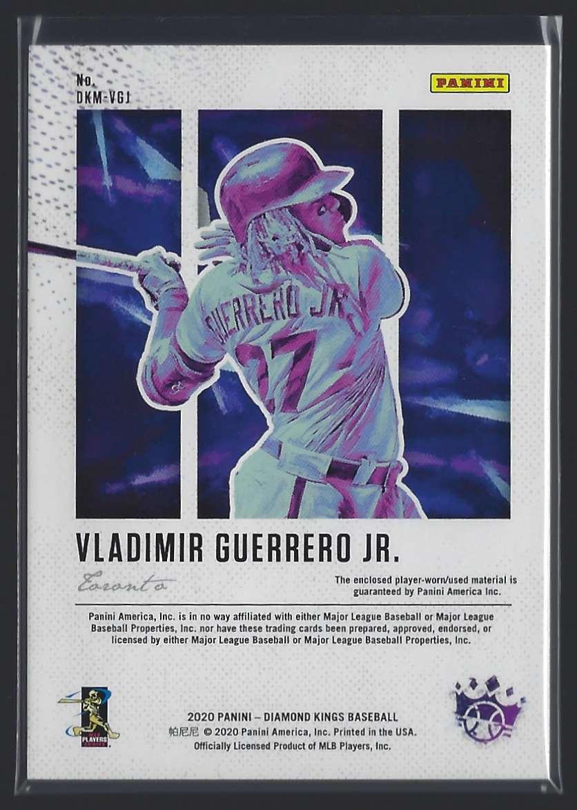 2020 Diamond Kings Dk Materials Vladimir Guerrero JR. #1 card back image