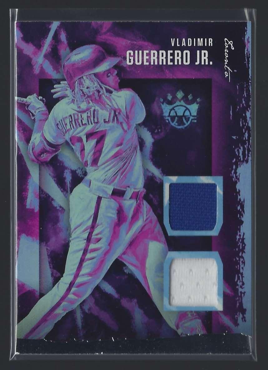 2020 Diamond Kings Dk Materials Vladimir Guerrero JR. #1 card front image