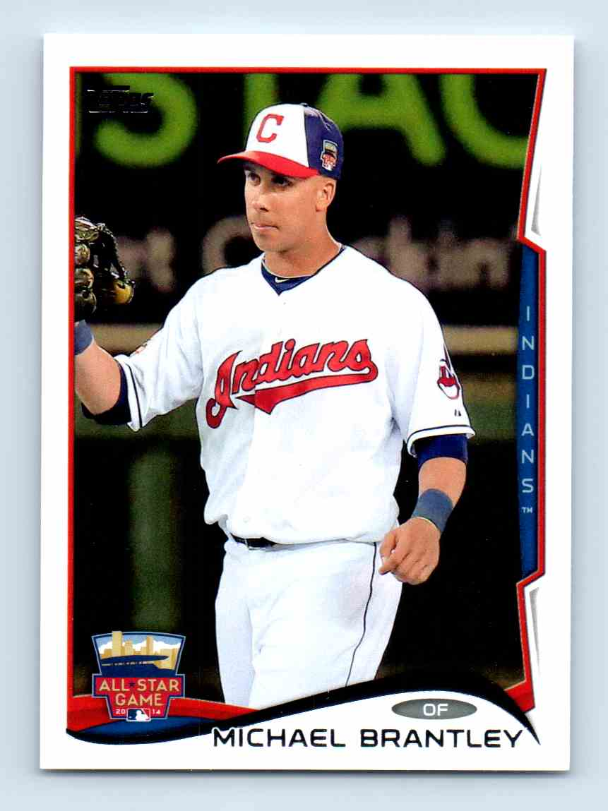 2014-15 Topps Update Michael Brantley - Cleveland Indians #US 176 card front image