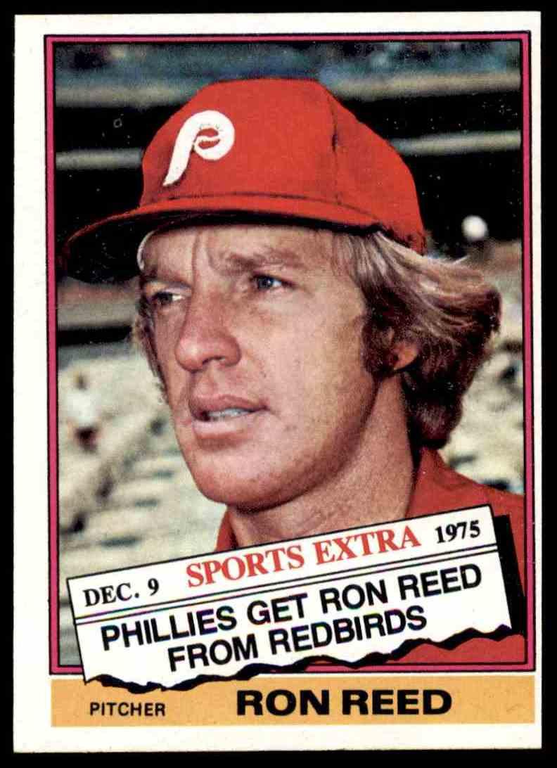 1976 Topps Traded Ron Reed 58t On Kronozio