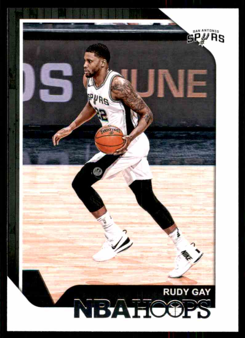 2018-19 Hoops Rudy Gay #23 card front image