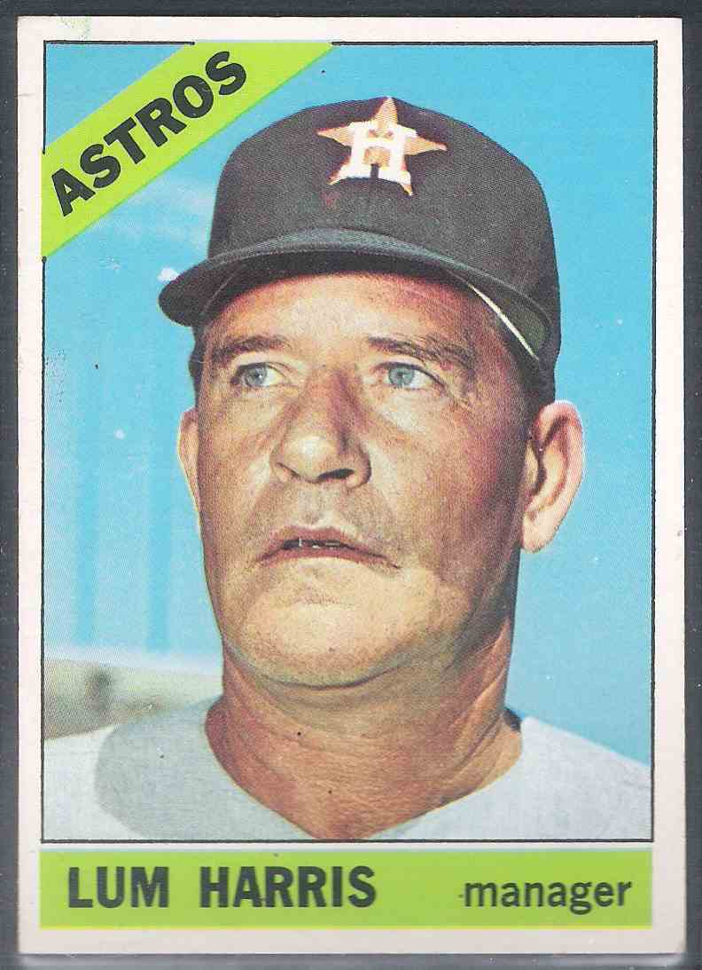 1966 Topps Lum Harris #147 card front image