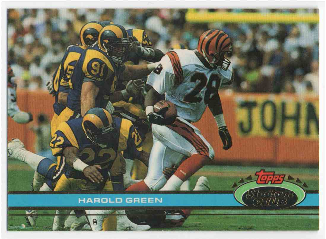 1991 Stadium Club Harold Green #253 card front image
