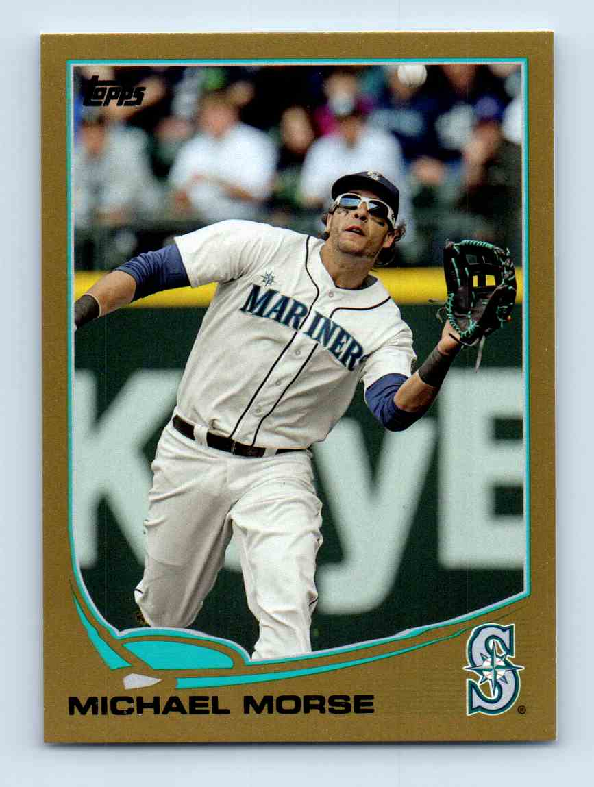 2013 Topps Update Gold Michael Morse #US103 card front image