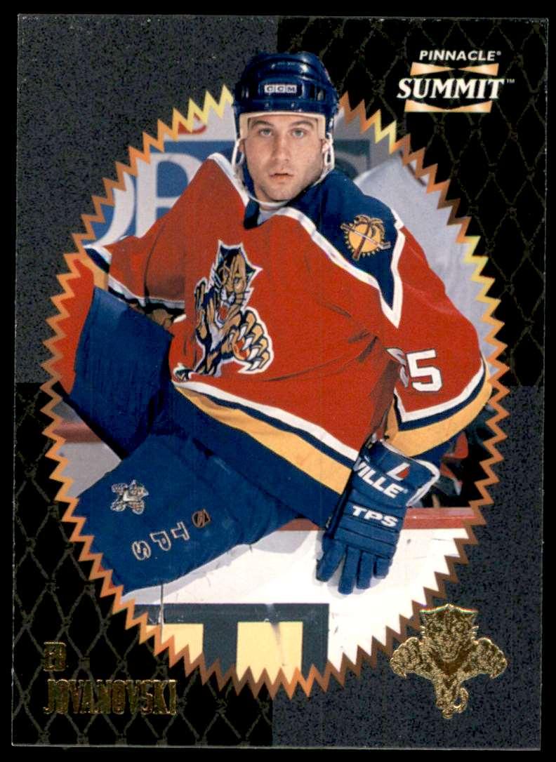 1996-97 Summit Ed Jovanovski #163 card front image