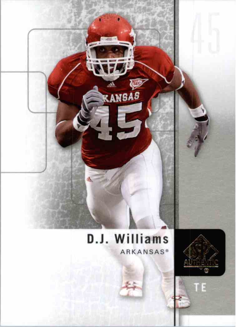 72 D J  Williams trading cards for sale