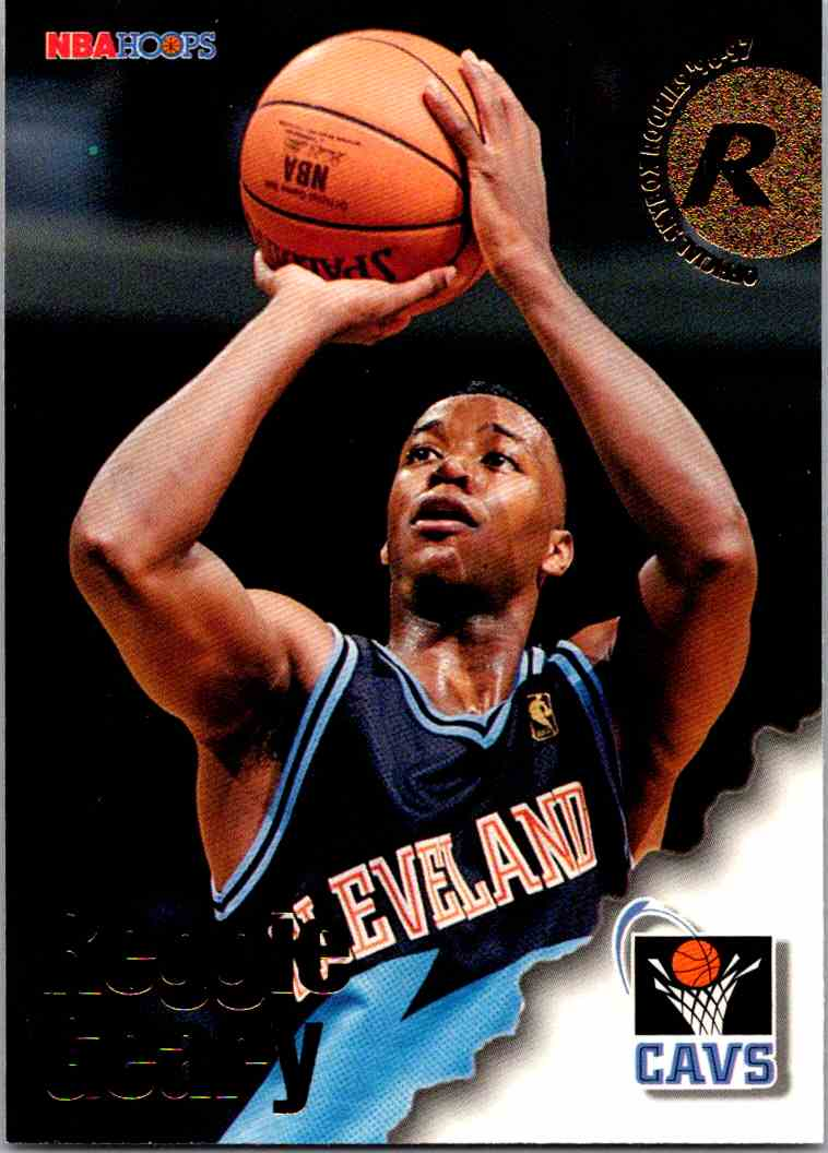 1997-98 NBA Hoops Reggie Geary #290 card front image