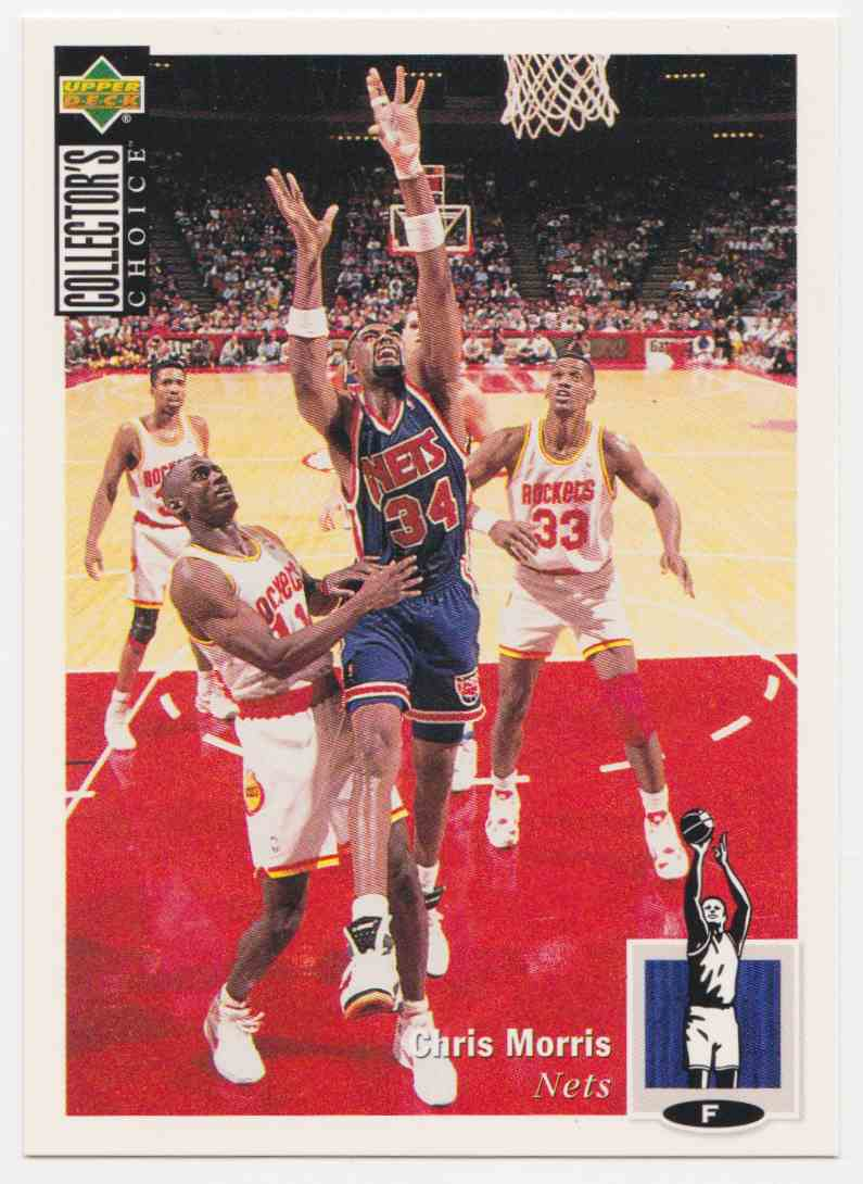 1994-95 Upper Deck Collector's Choice Base Chris Morris #148 card front image