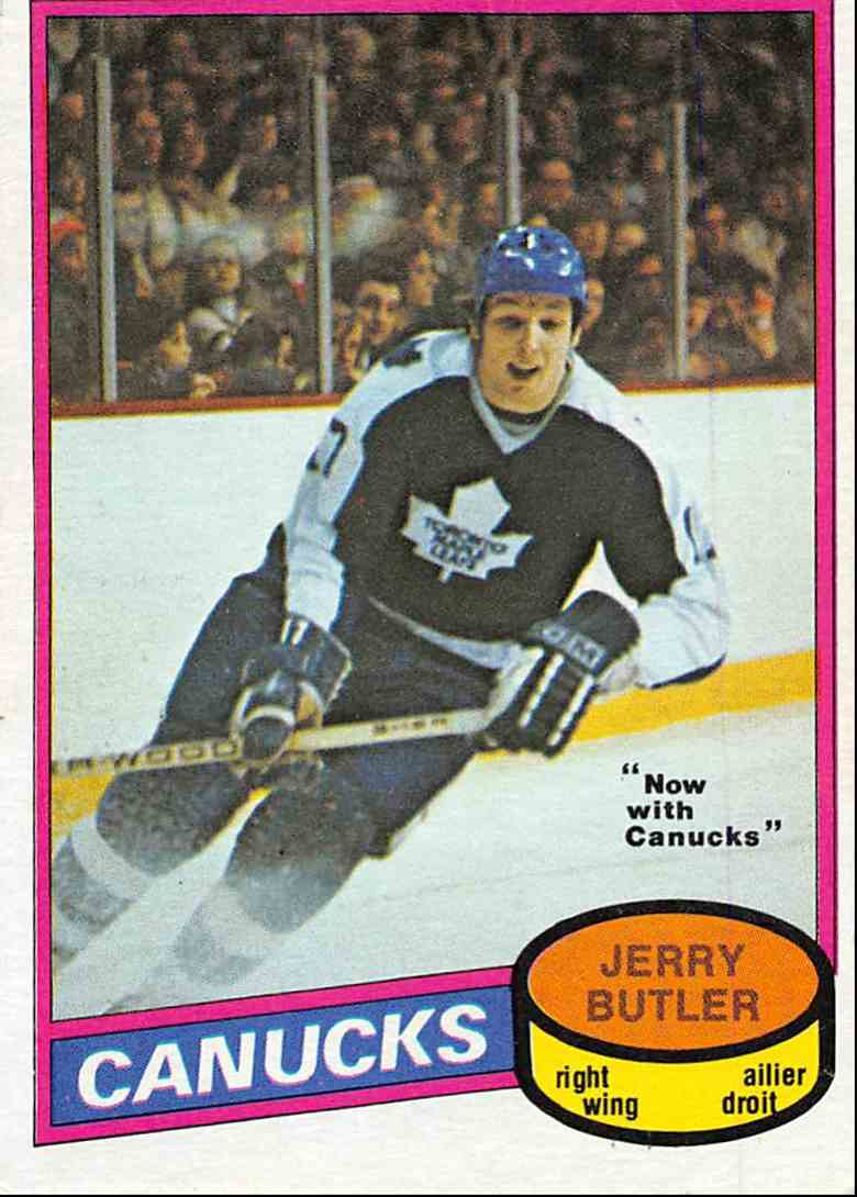 1980-81 O-Pee-Chee Jerry Butler #351 card front image