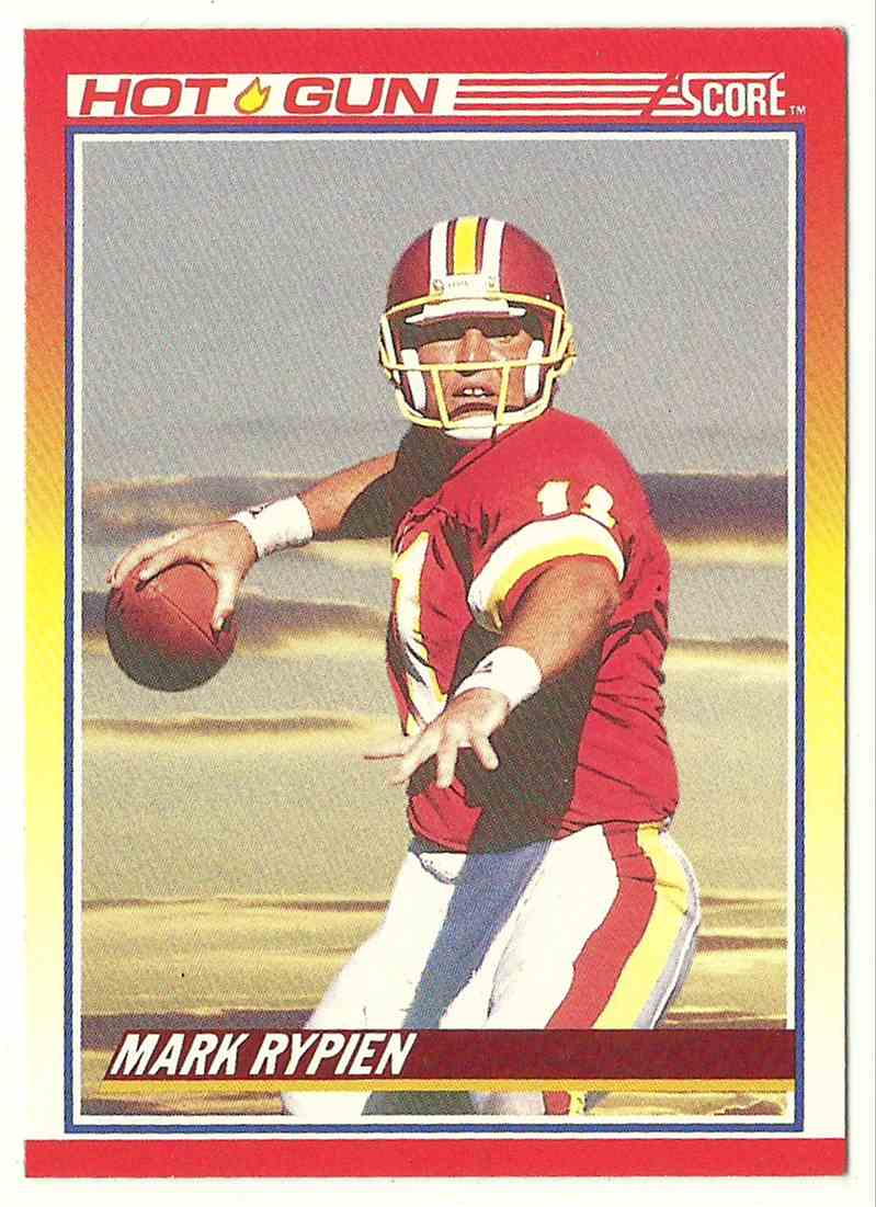 1990 Score Mark Rypien #313 card front image