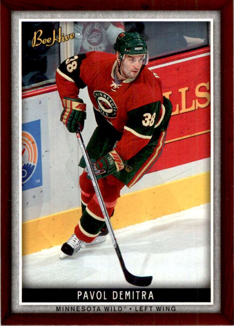 2006-07 Upper Deck Beehive Pavol Demitra #53 card front image