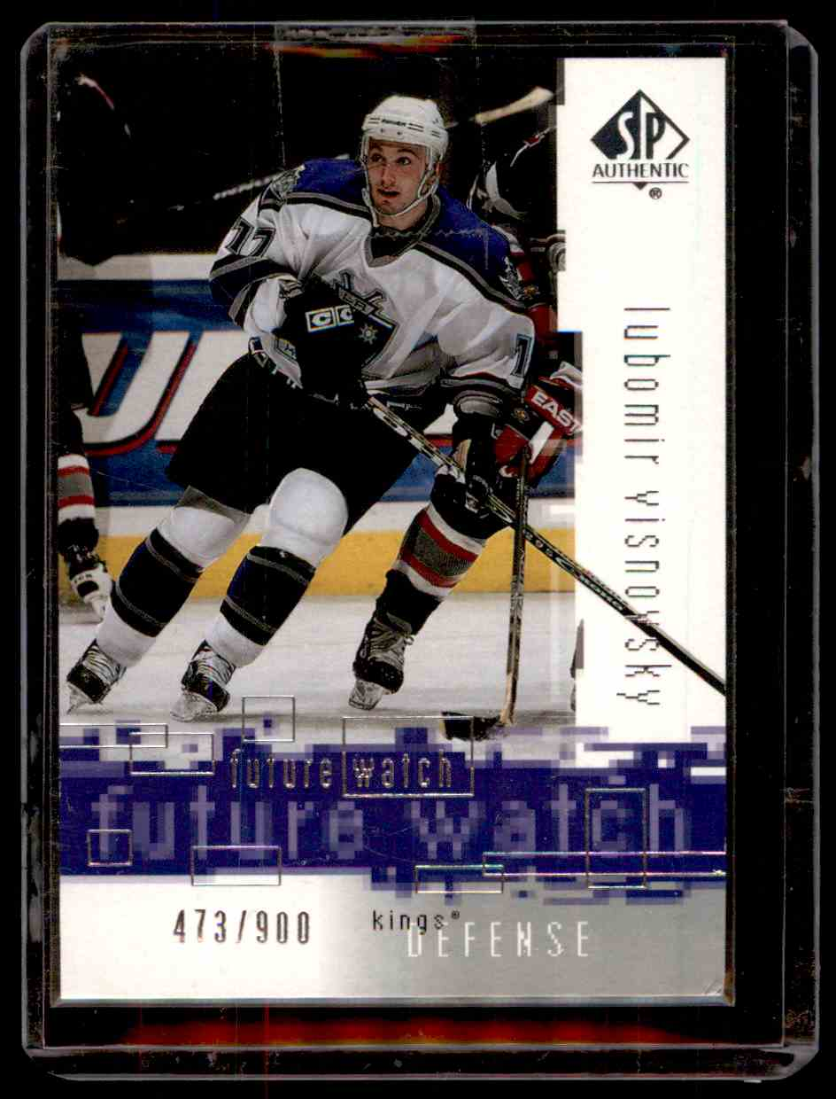 2000-01 SP Authentic Lubomir Visnovsky #109 card front image