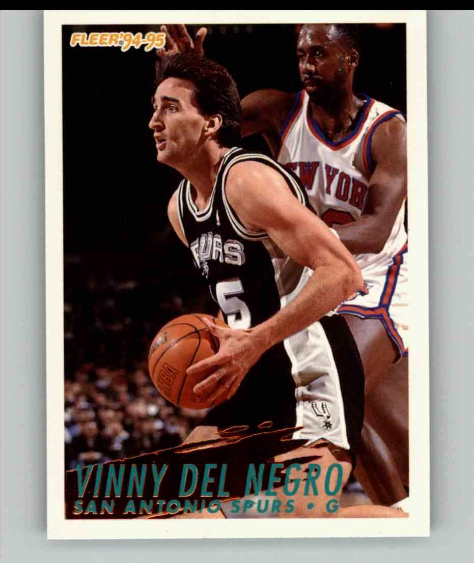 1994-95 Fleer Vinny Del Negro #204 card front image