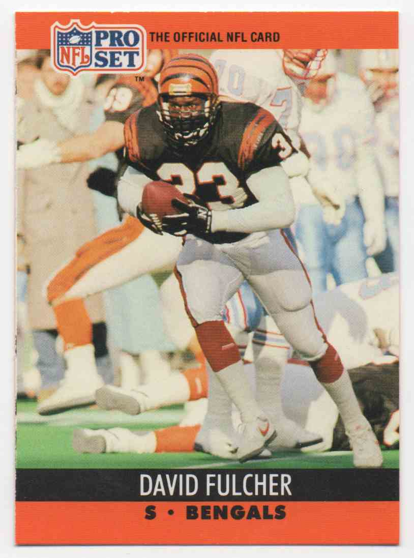 1990 Pro Set David Fulcher #462 card front image