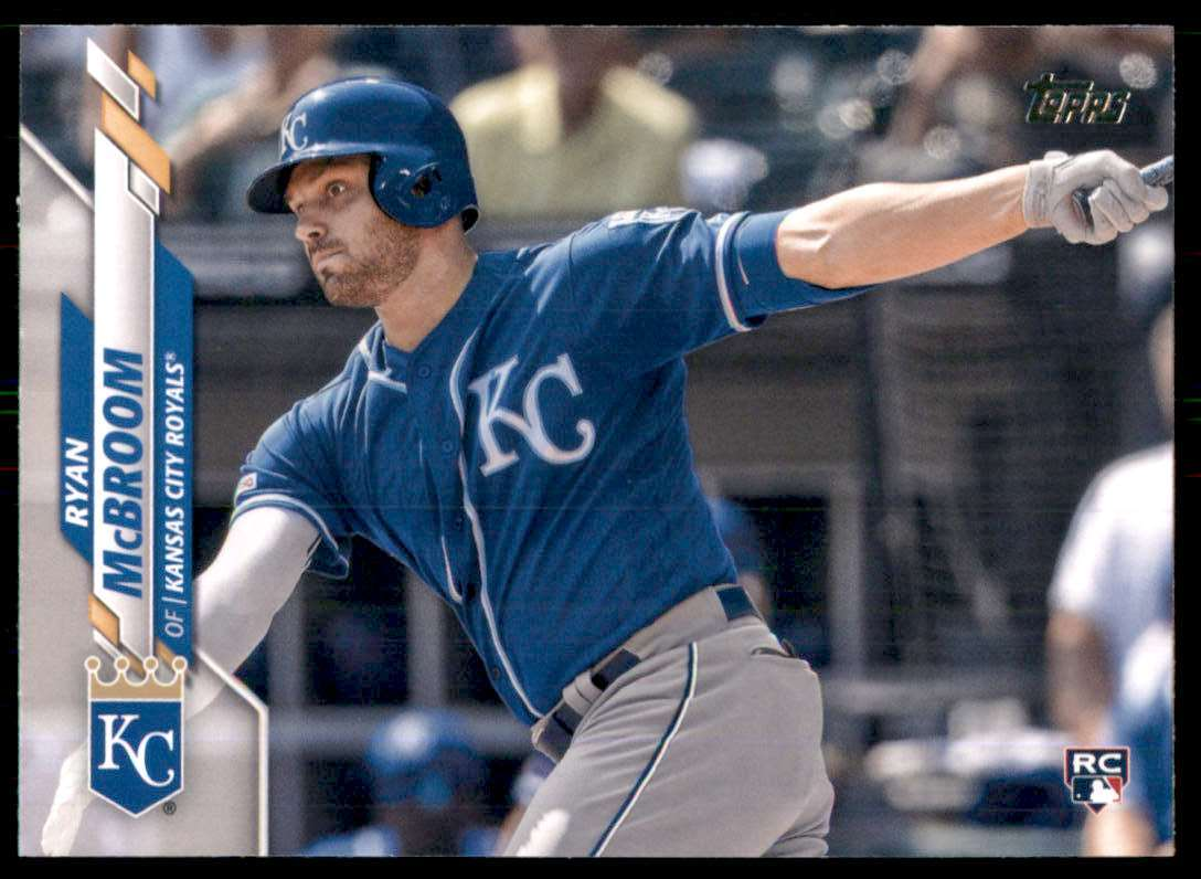 2020 Topps Ryan McBroom RC #671 card front image