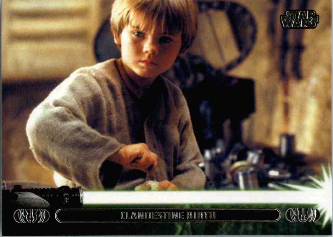 2013 Star Wars Jedi Legacy Clandestine Birth #1A card front image
