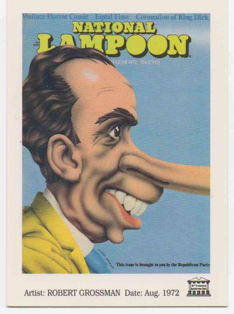 1993 National Lampoon August 1972 #16 card front image