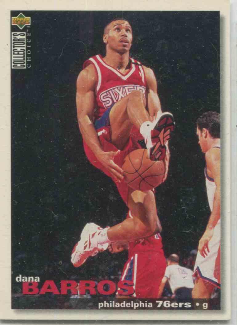 1995 96 Collector s Choice Dana Barros 41 on Kronozio
