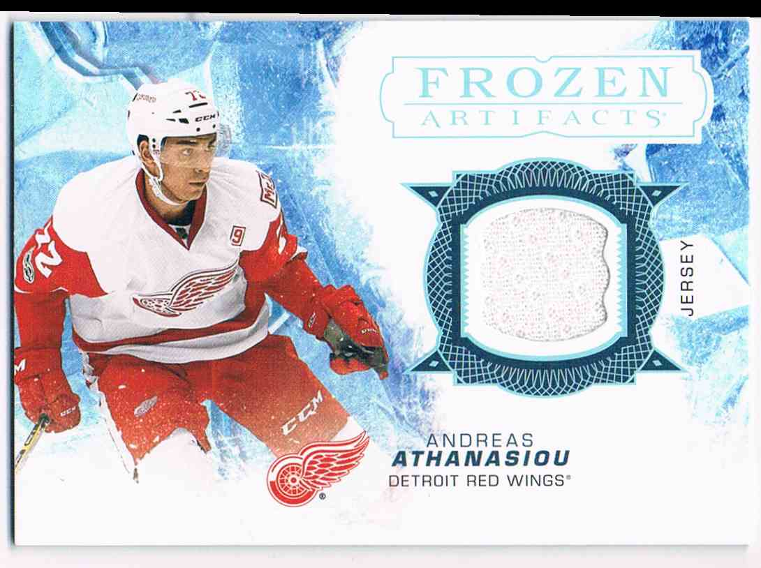 2017-18 Artifacts Frozen Jersey Andreas Athanasion #FA-AA card front image