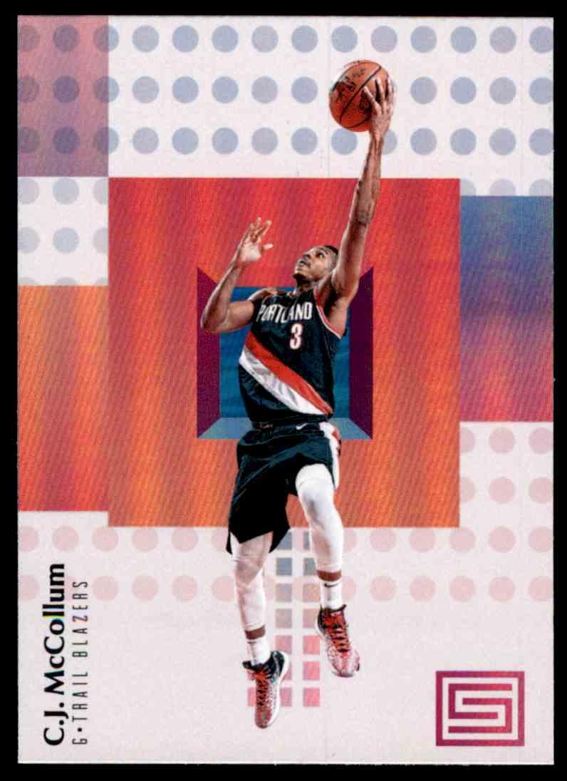 2017-18 Panini Status C.J. McCollum #25 card front image