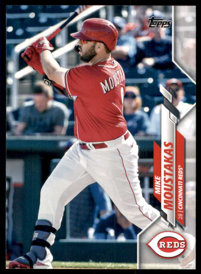 2020 Topps Update Mike Moustakas #U-6 card front image