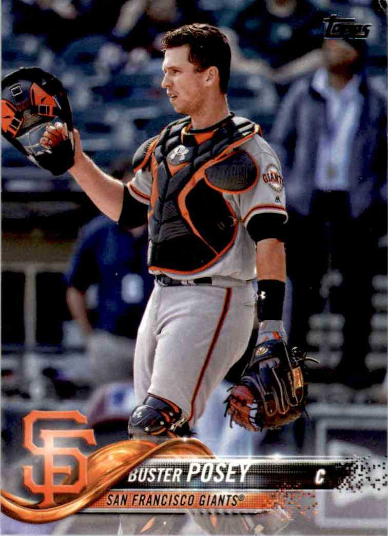 2018 Topps Buster Posey #250 card front image