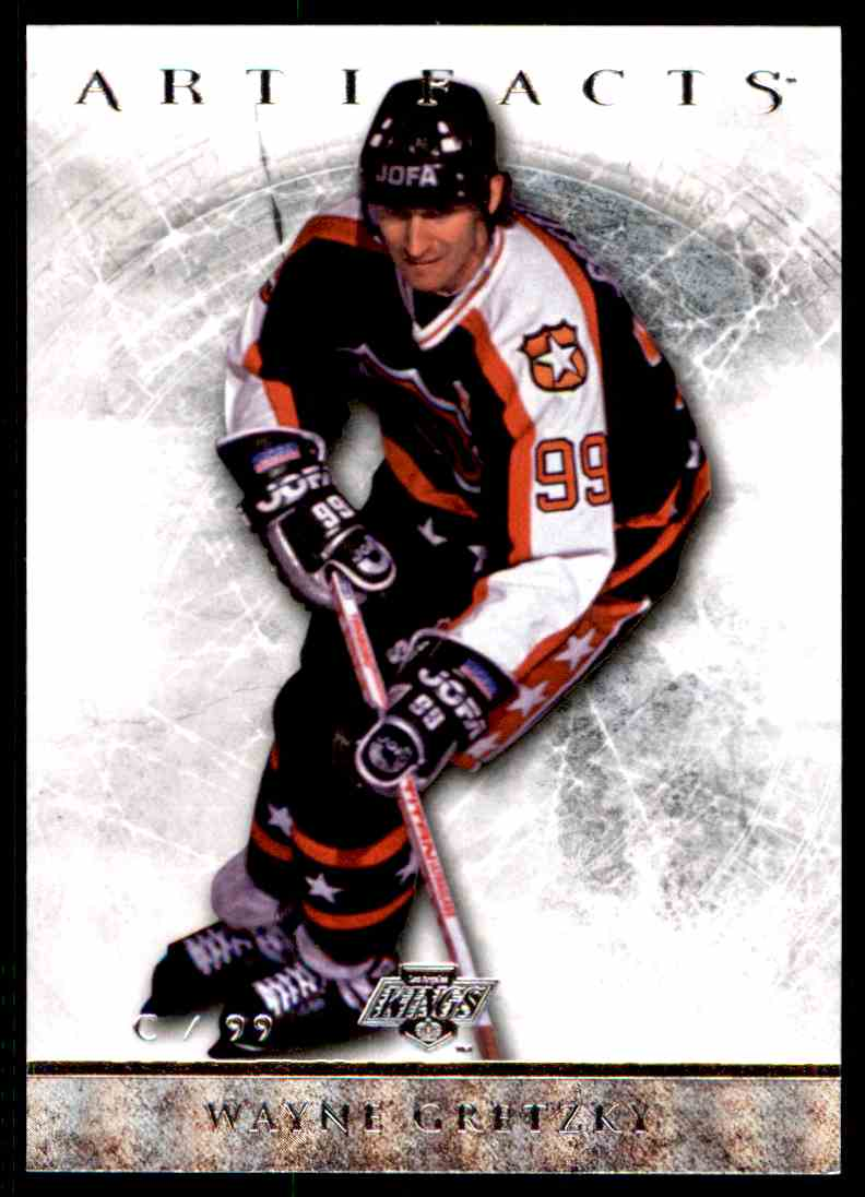 2012-13 Upper Deck Artifacts Wayne Gretzky #98 card front image