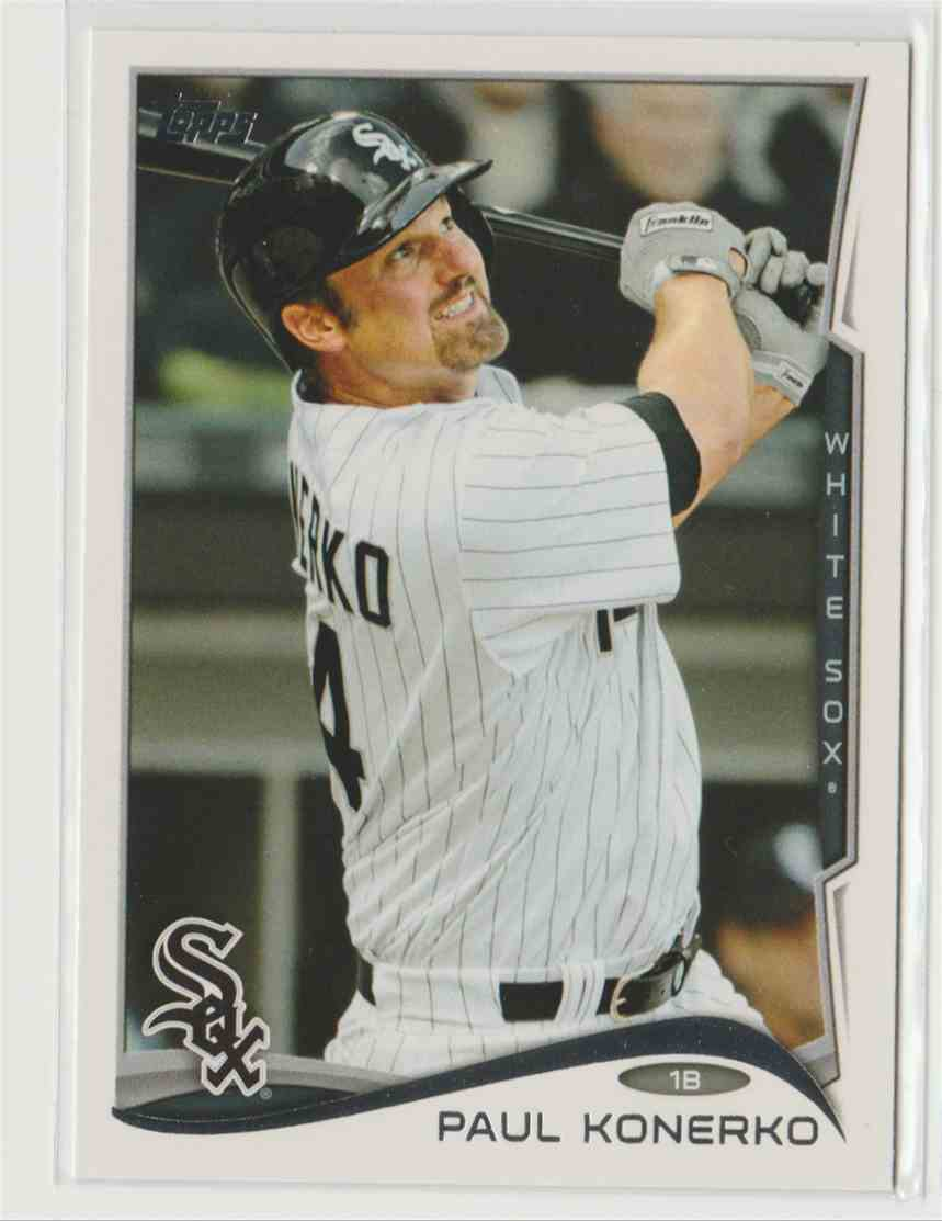 2014 Topps Paul Konerko #610 card front image