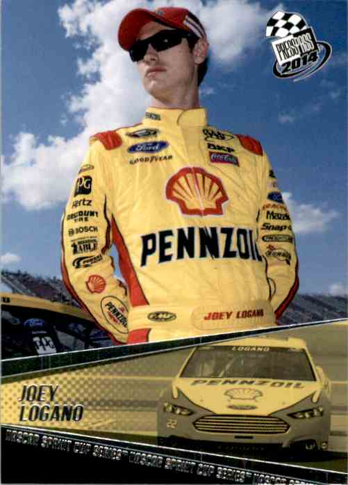 2014 Press Pass Joey Logano #23 card front image