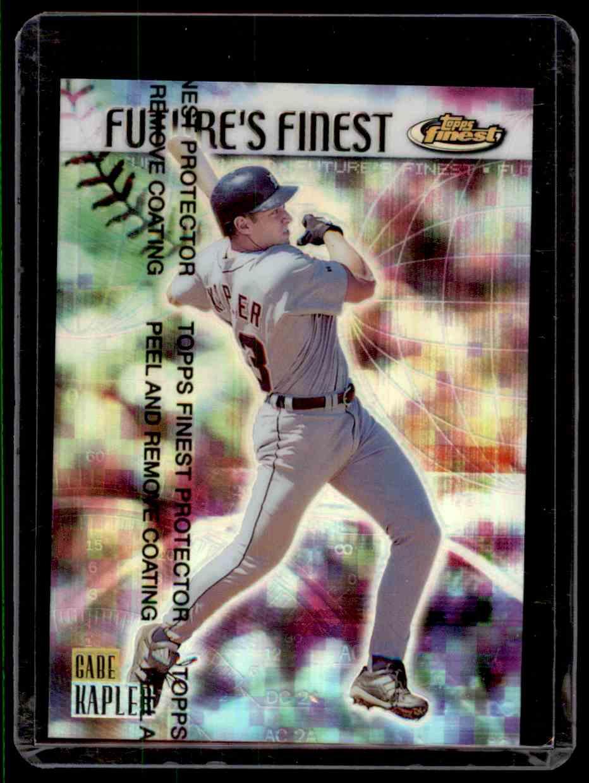 1999 Finest Future's Finest Gabe Kapler #FF6 card front image