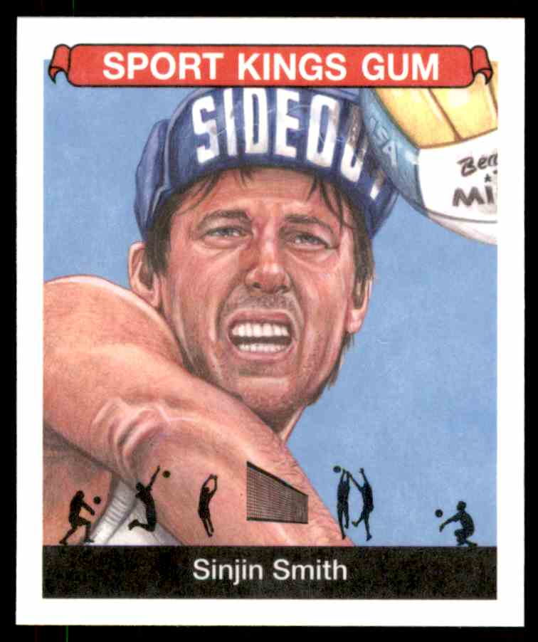 2018 Sportkings Black Back Retail Mini Sinjin Smith #37 card front image