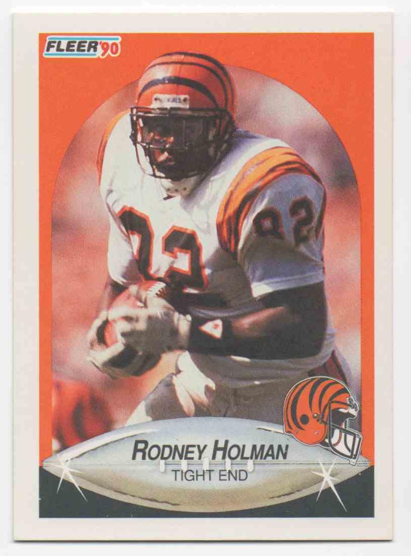 1990 Fleer Rodney Holman #216 card front image