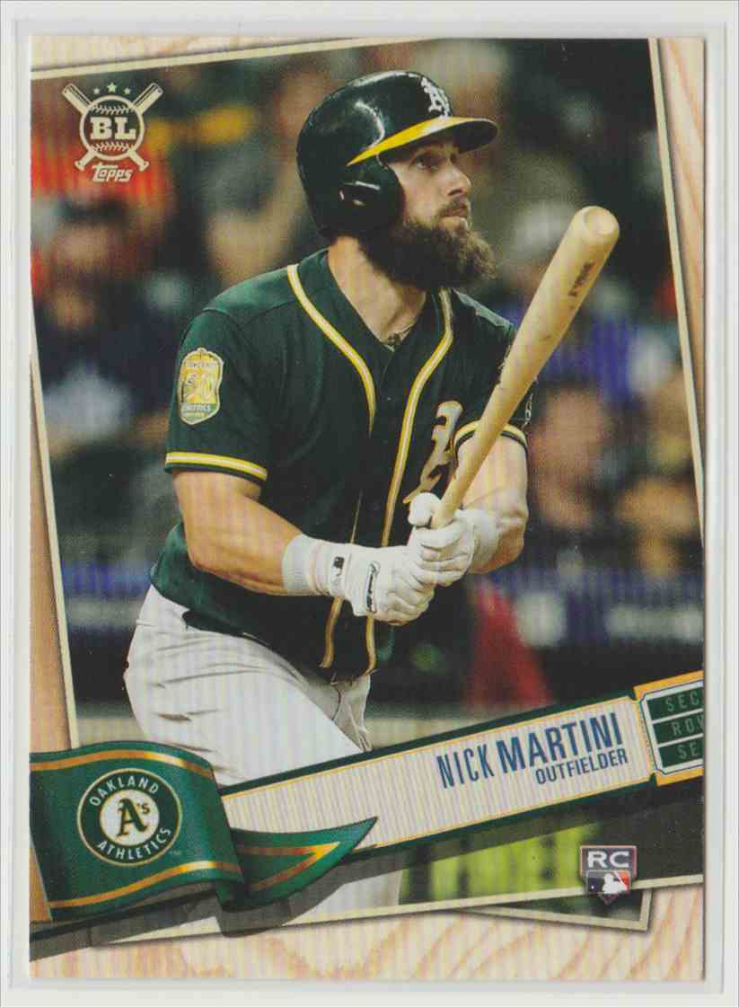 2019 Topps Big League Nick Martini #281 card front image
