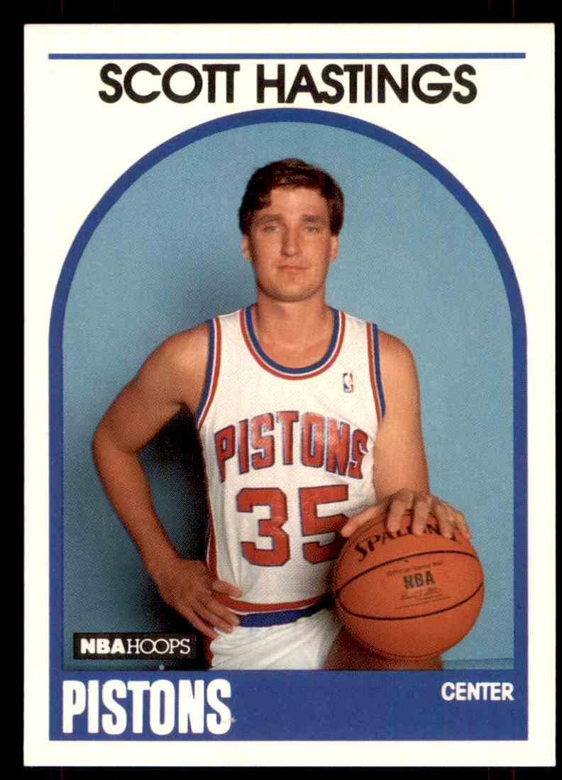 1989-90 NBA Hoops Scott Hastings #317 card front image