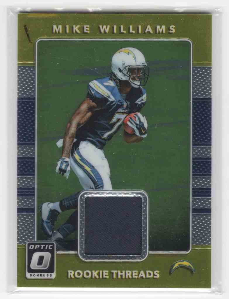 2017 Panini Donruss Optic Mike Williams #4 card front image