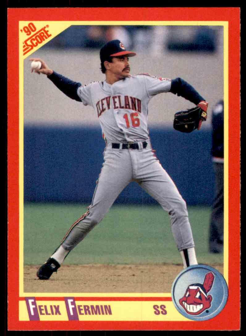 1990 Score Felix Fermin #256 card front image