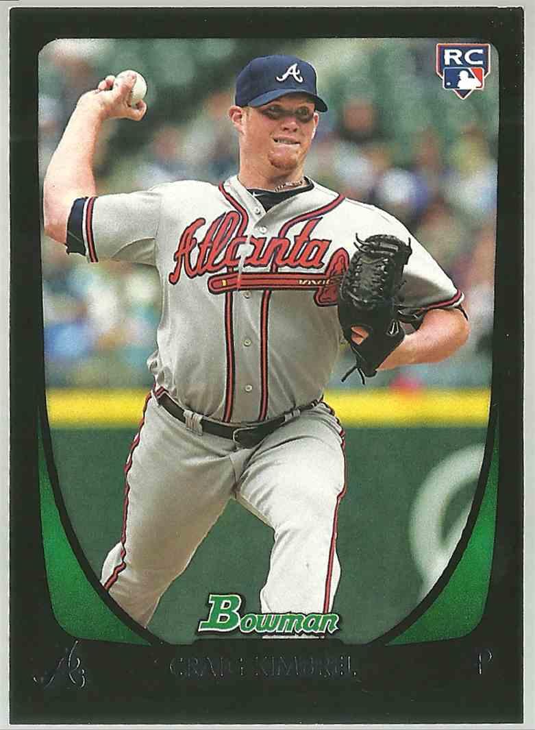 2011 Bowman Craig Kimbrel #50 card front image