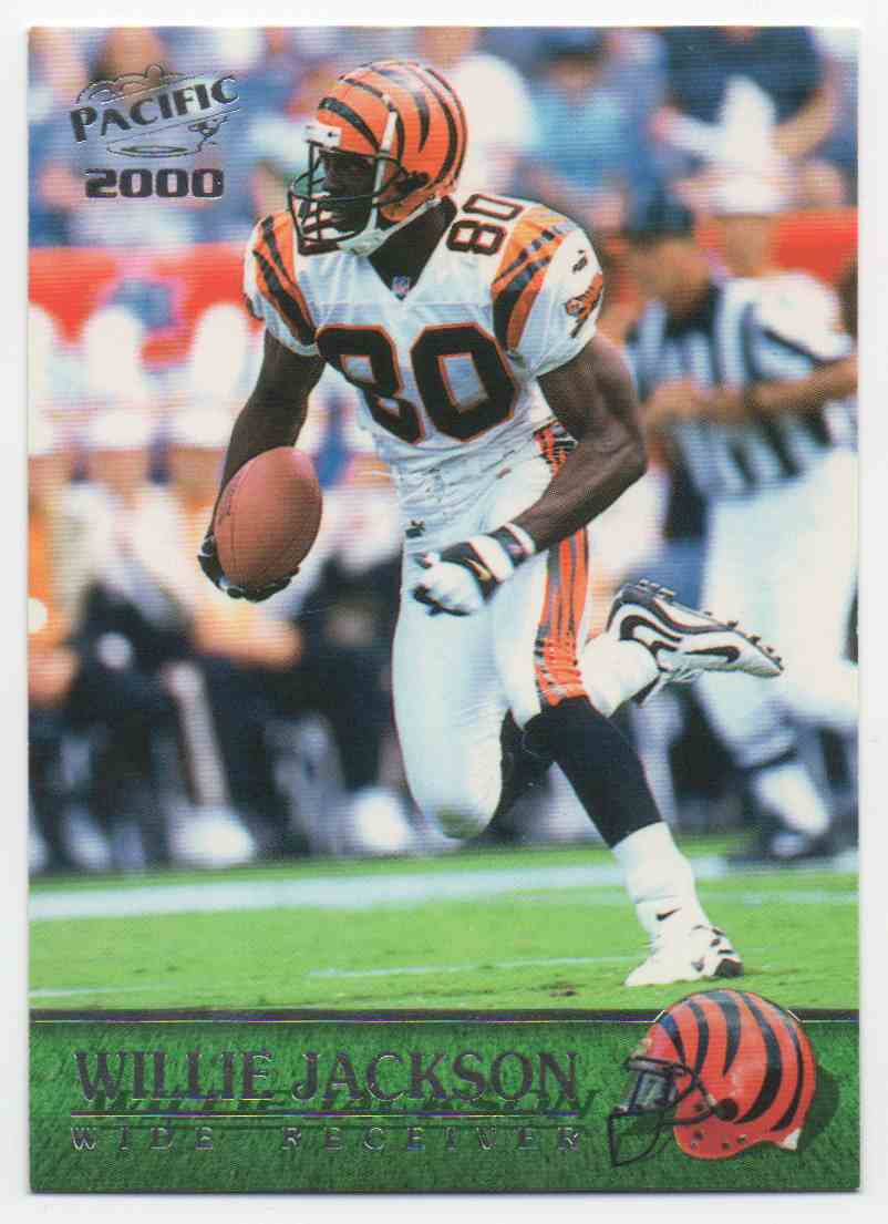 2000 Pacific Willie Jackson #76 card front image