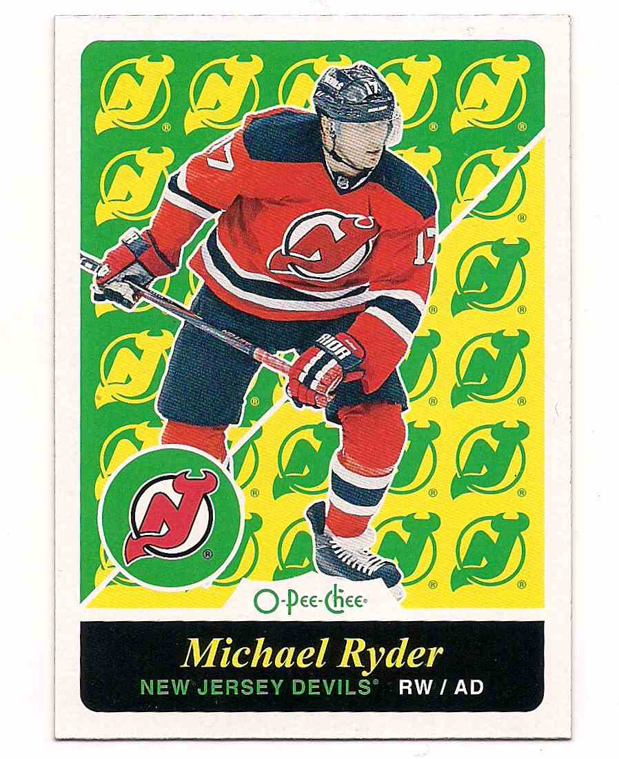 2015-16 0-Pee-Chee Retro Michael Ryder #127 card front image