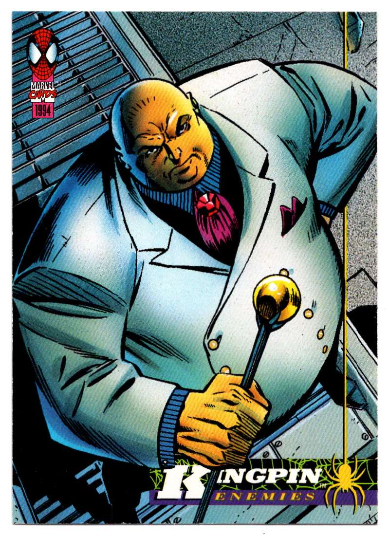 1994 Amazing Spider-Man Kingpin #52 card front image