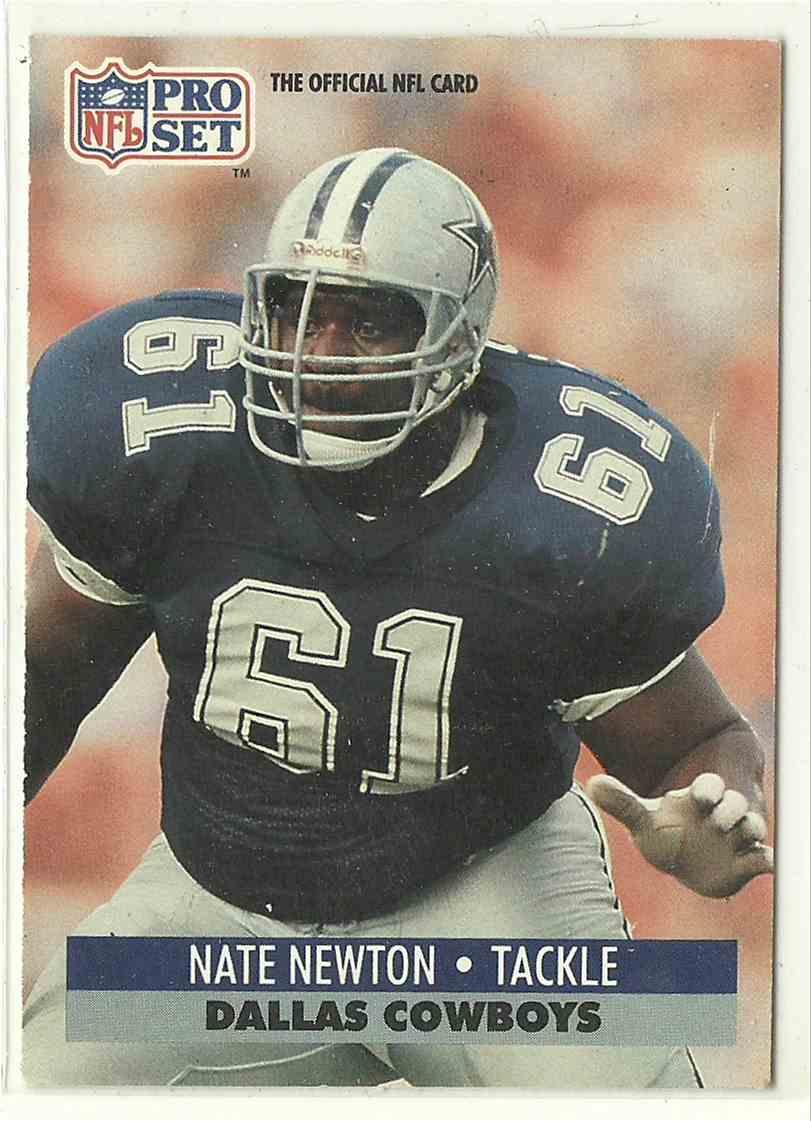 1991 Pro Set Nate Newton #482 card front image