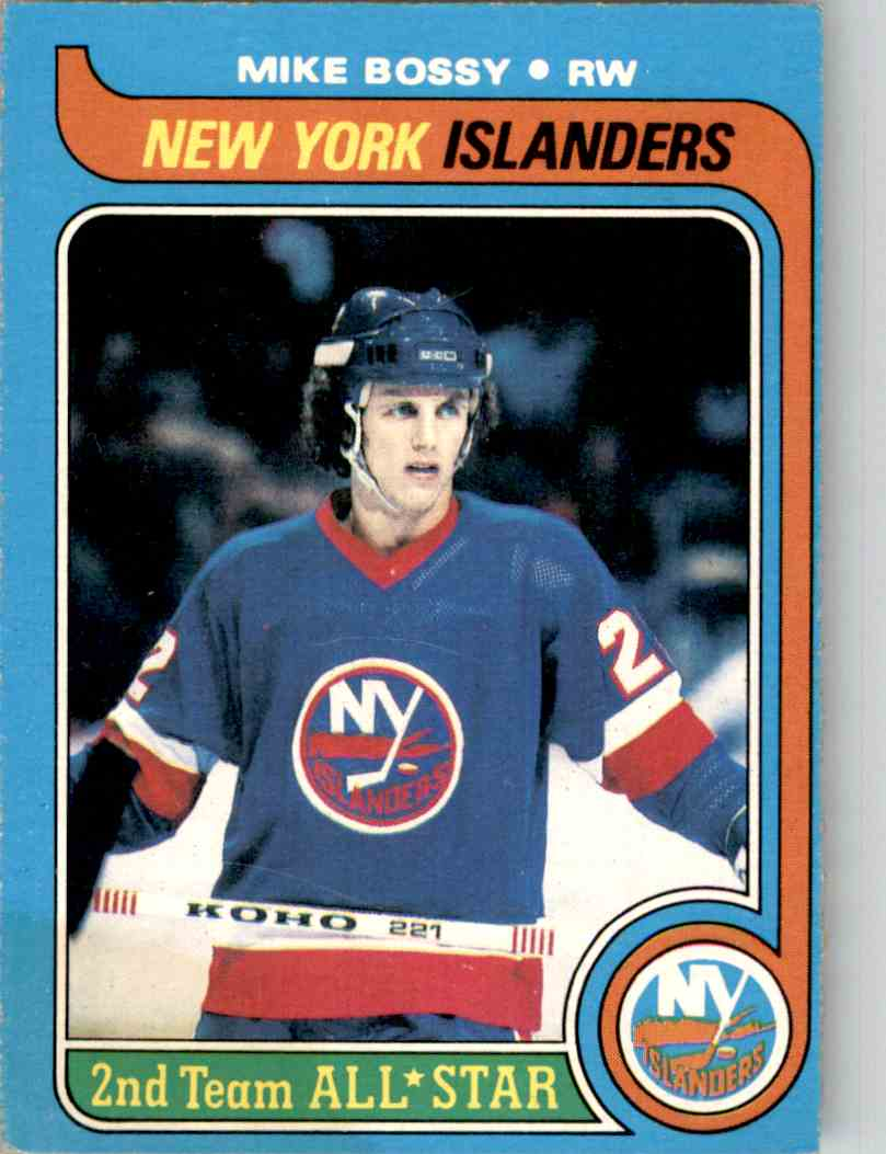 1979-80 O-Pee-Chee Mike Bossy #230 card front image