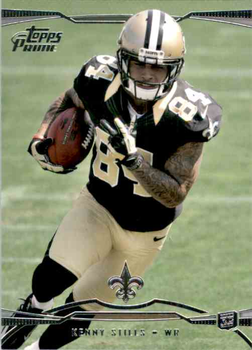 2013 Topps Prime Retail Kenny Stills #135 card front image