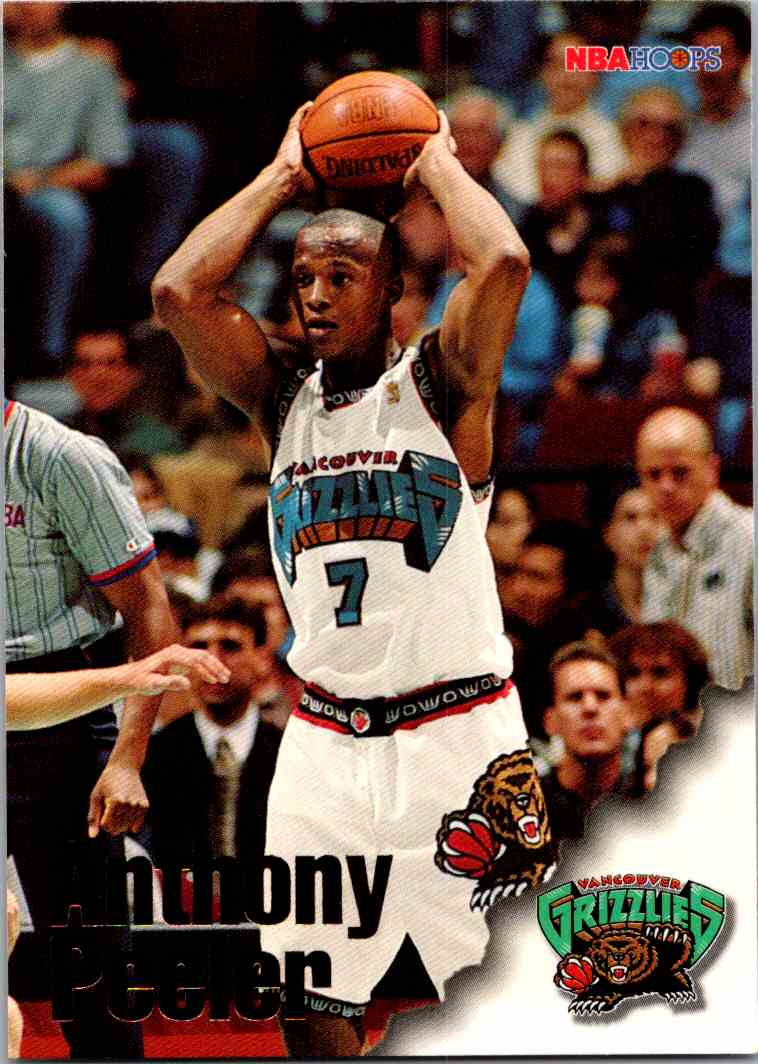 1997-98 NBA Hoops Anthony Peeler #246 card front image