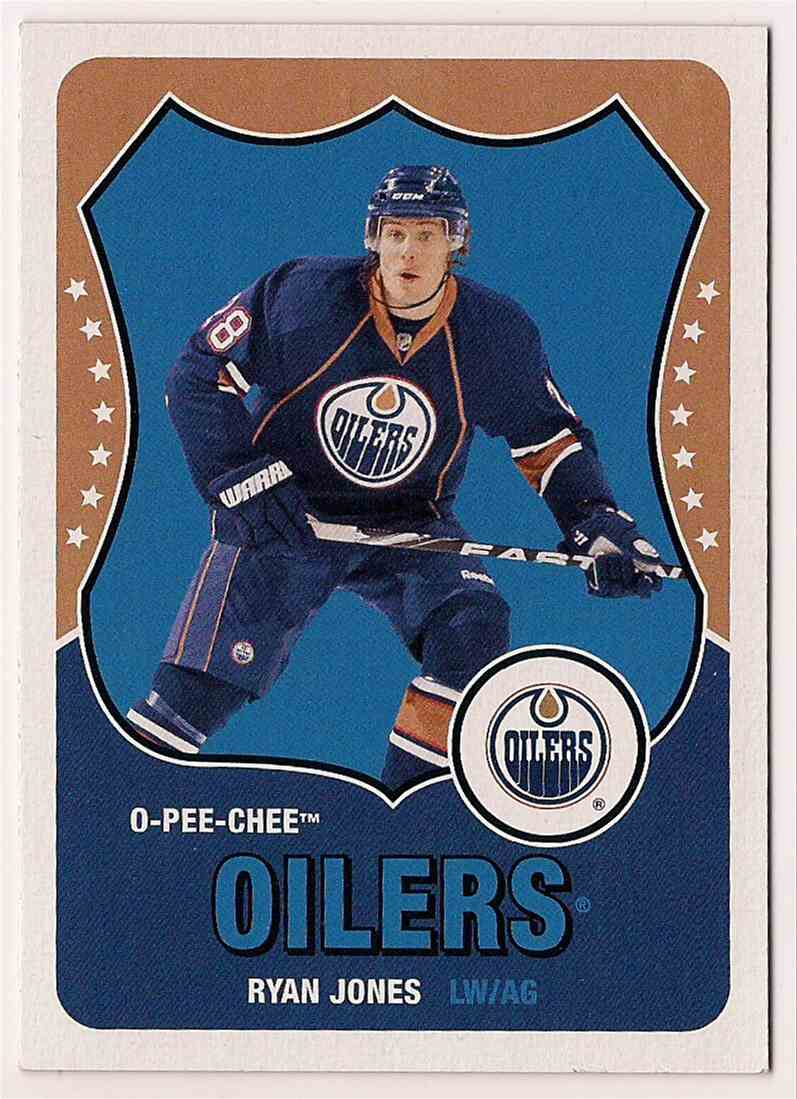 2010-11 O-Pee-Chee Retro Ryan Jones #146 card front image