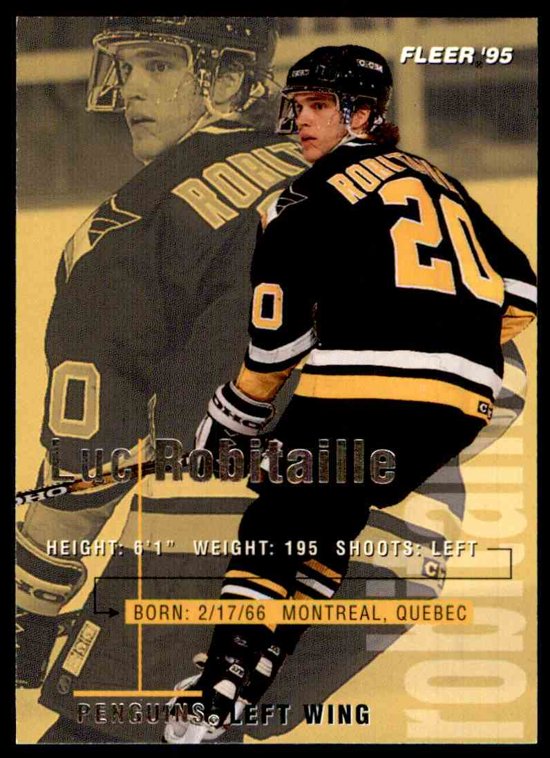 1994-95 Fleer Luc Robitaille #167 card front image