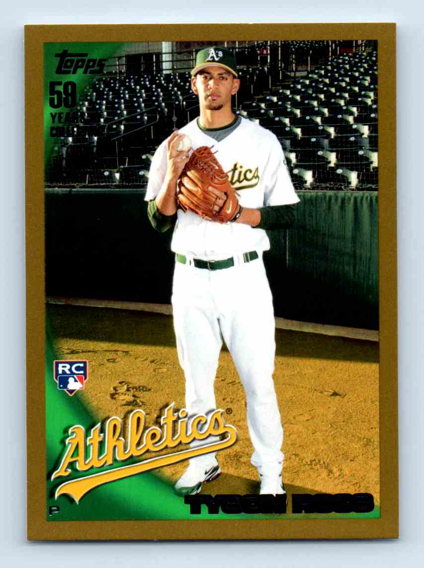 2010 Topps Gold Border Tyson Ross #461 card front image