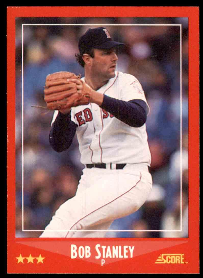 1988 Score Bob Stanley #300 card front image